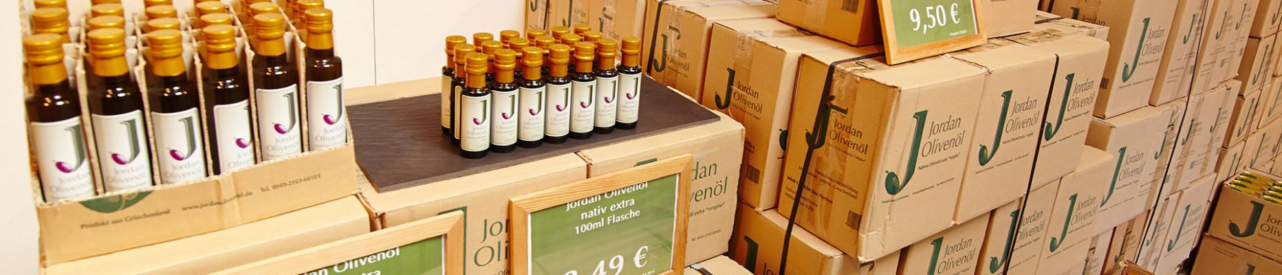 Jordan Olivenöl auf Lager