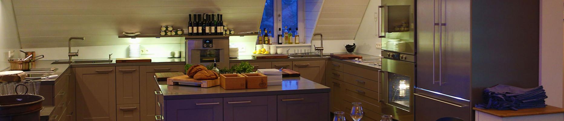 Küche im Kitchenclub