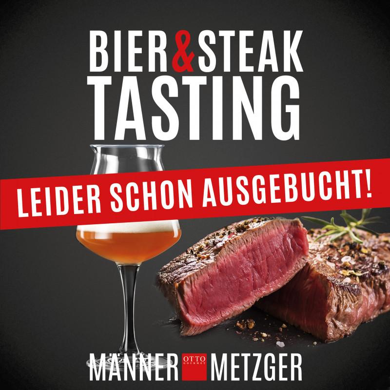 Bier & Steak Tasting im MännerMetzger ausgebucht