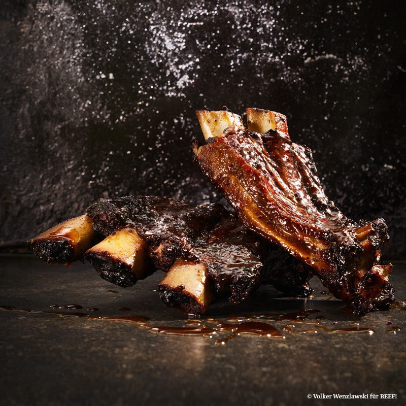 Rezept Back Ribs BBQ