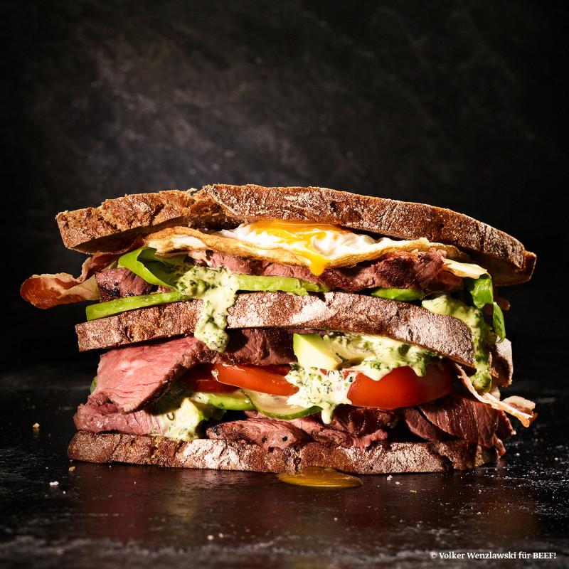 Rezept Club Sandwich 2.0