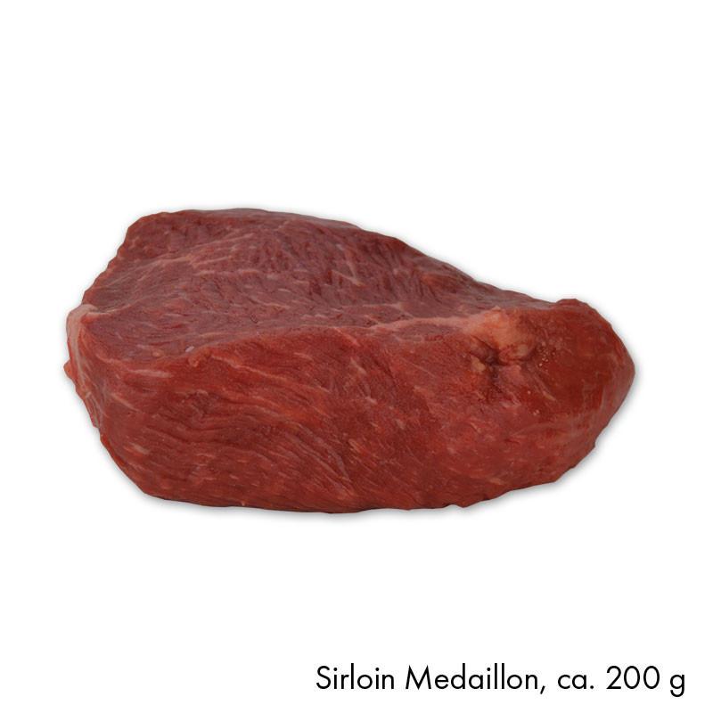 Sirloin Medaillon, ca. 200 g