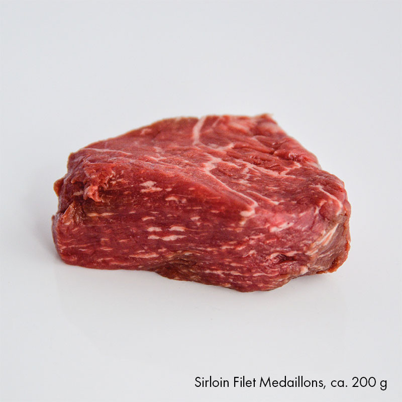 Sirloin Filet Medaillon, ca. 200 g
