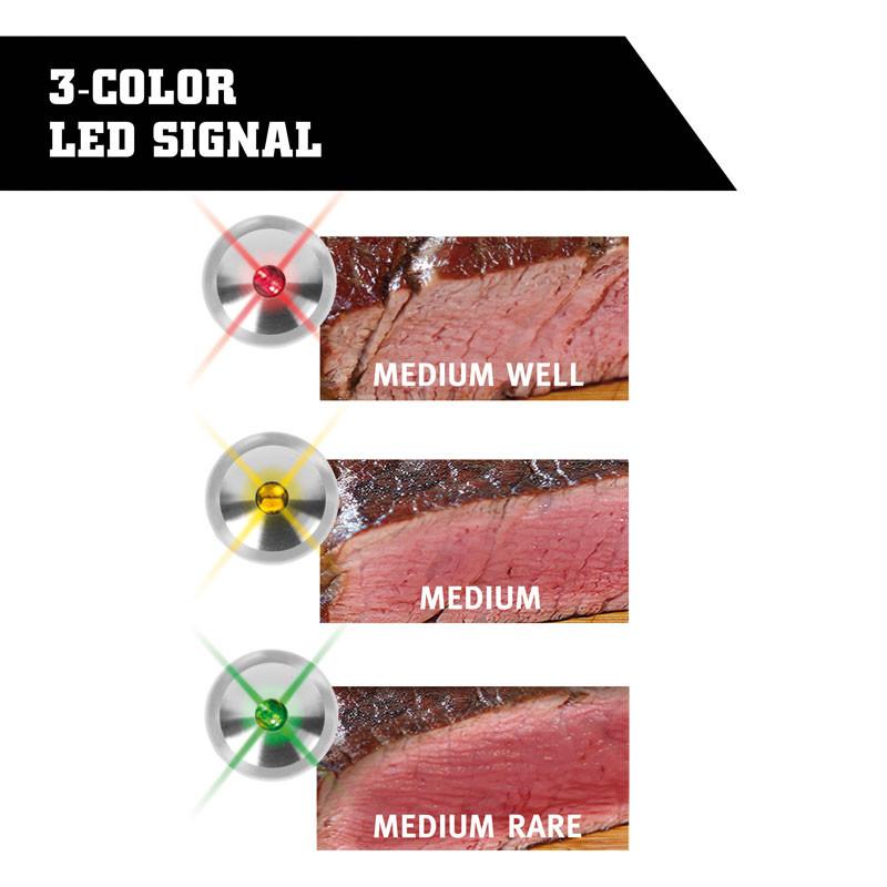 Steak Champ 3-Color garstufen