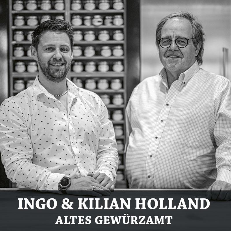 Ingo & Kilian Holland vom dem alten Gewürzamt