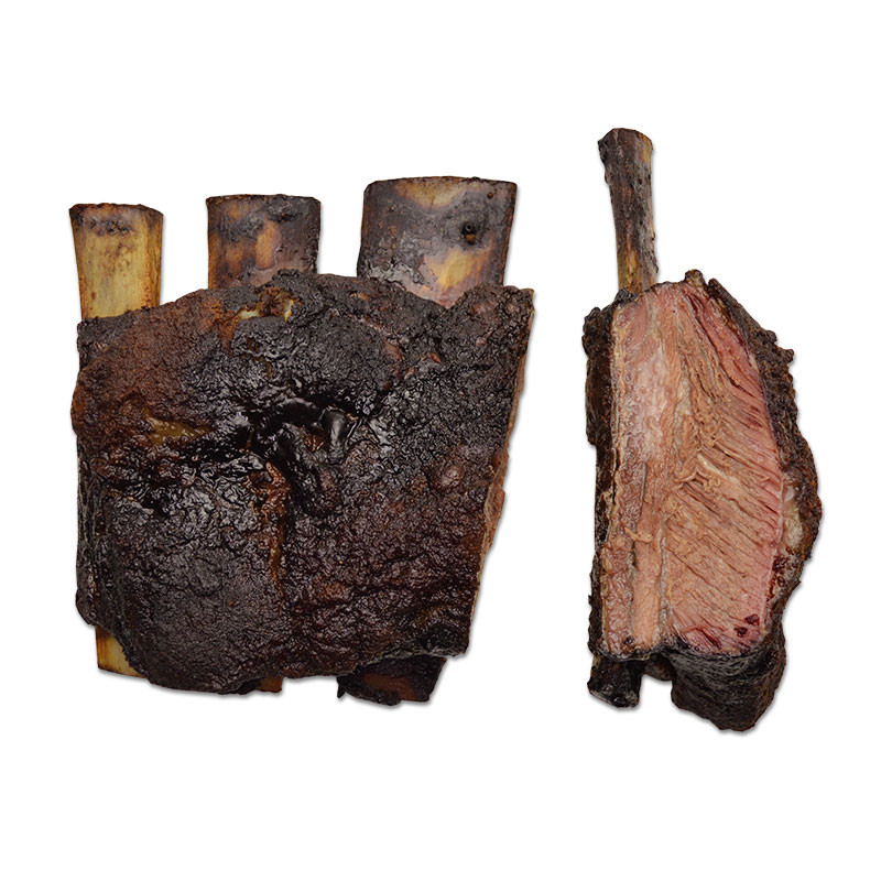 "US Black Angus Texas Beef Ribs ""Smoked"""