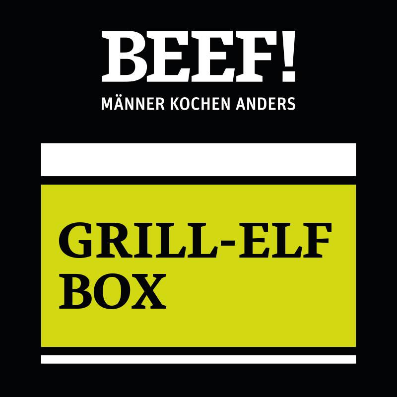 BEEF! GRILL-ELF-BOX - Wurst Paket für den Grill