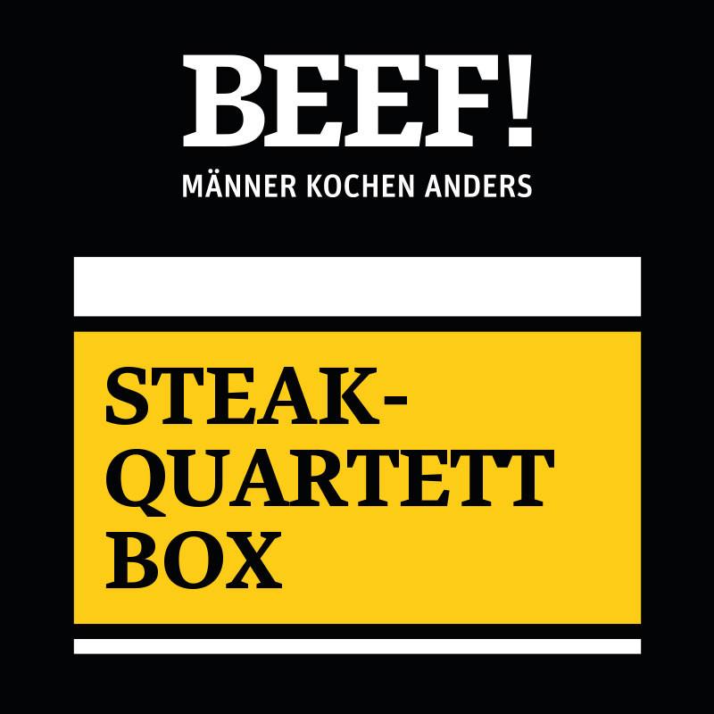 BEEF!-Steak-Quartett Box
