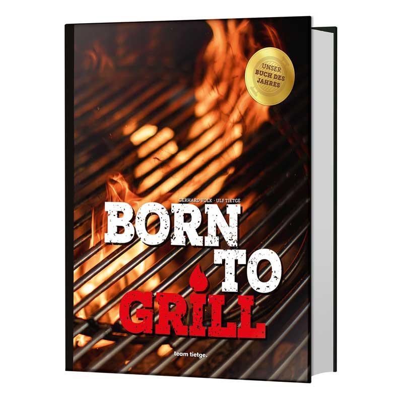 Buch Born to Grill Titel