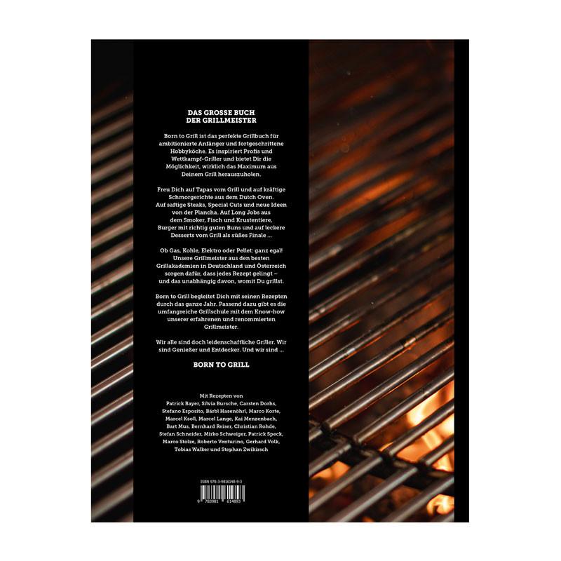 Buch Born to Grill Rückseite