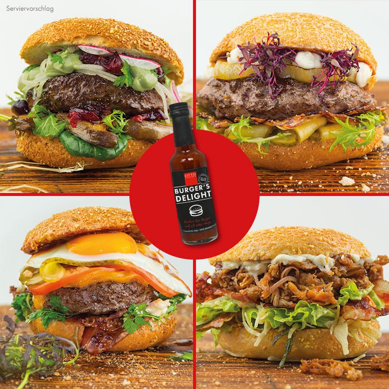 OTTO GOURMETs Burgerwelten Paket