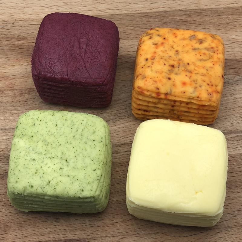 Farbenfrohes Bio Butter Set von den Butter Boyz