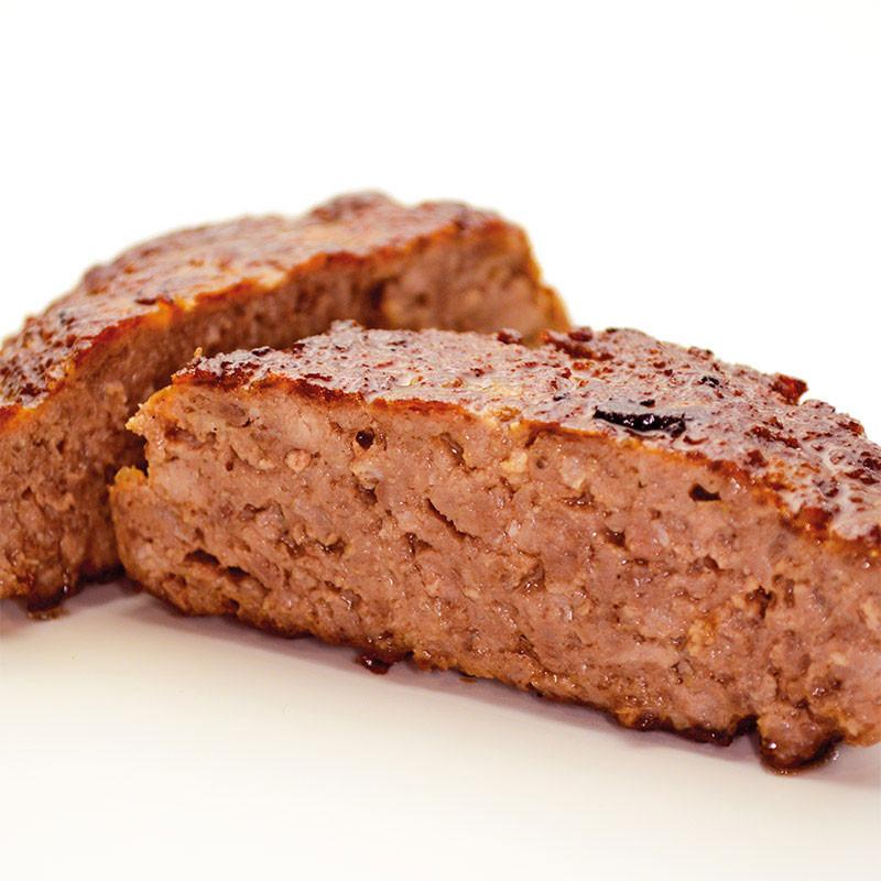 Chianina Steakhouse Burger aufgeschnitten