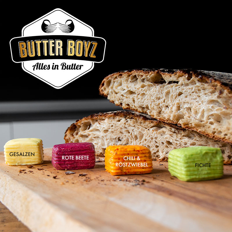 Butter Boyz: Alles in Butter 4er-Set
