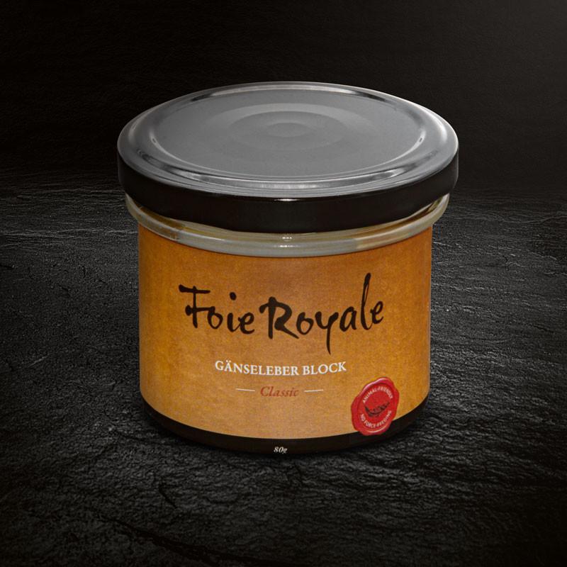 Gänse Foie Royale - 80 g