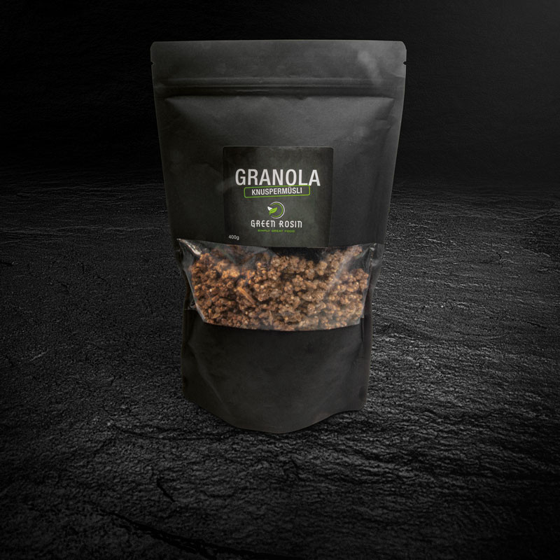 Granola Müsli Verpackung