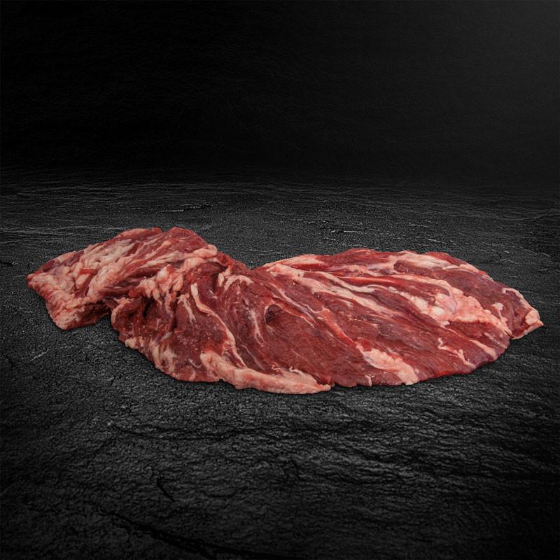 Hereford Spider Steak, pariert