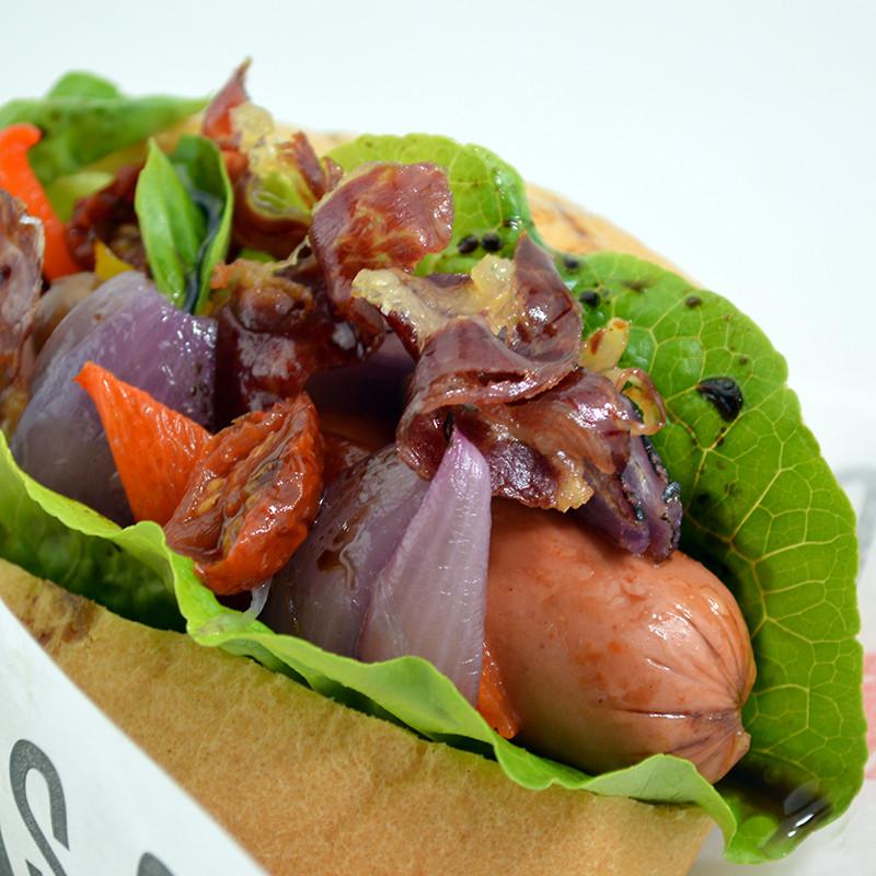 Hot Dog Mediterran