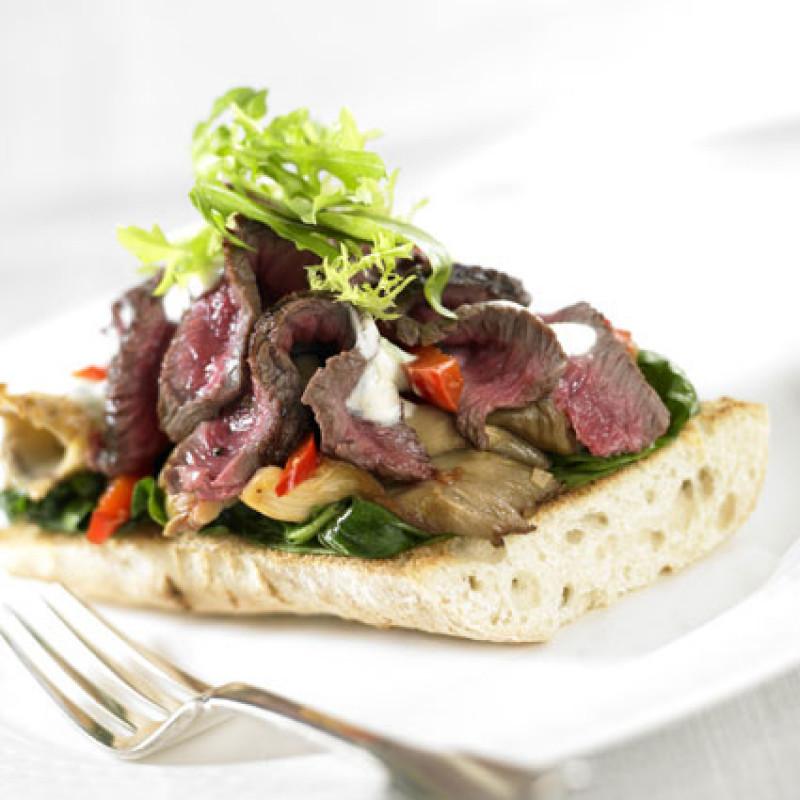 Rezept Irish Beef Bruschetta mit Roastbeef