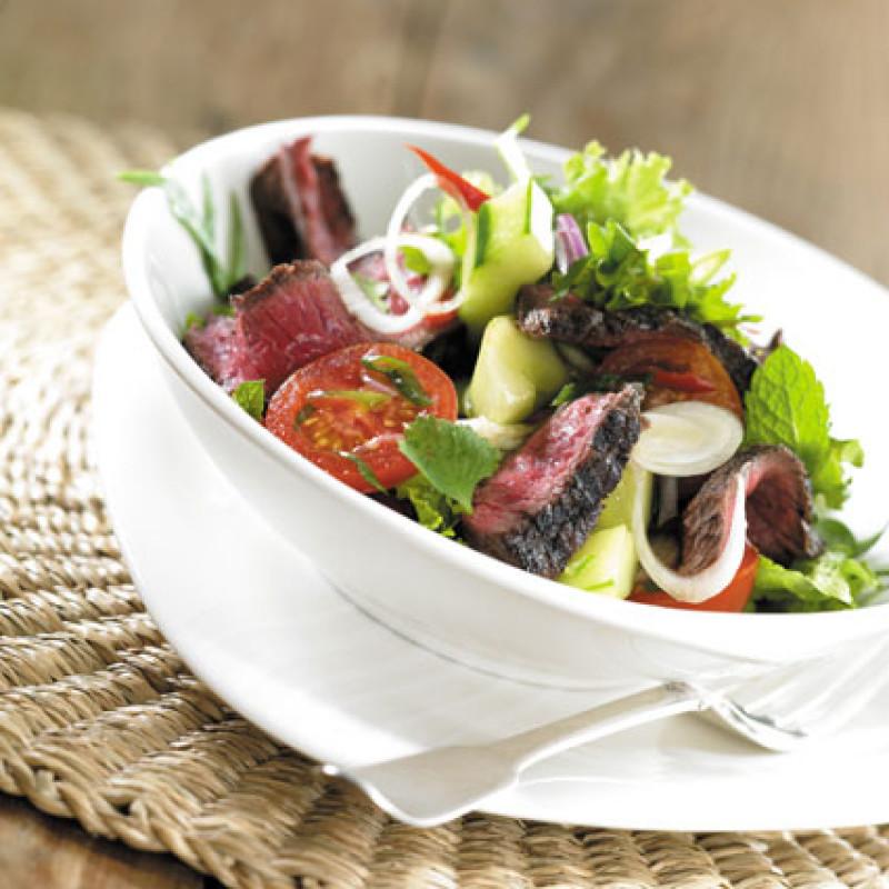 Rezept Irish Beef Salat mit Rindfleisch