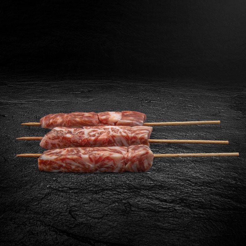 Kobe Wagyu Beef Spieße