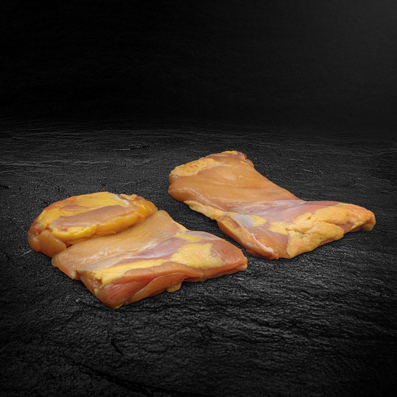 PIO Maishähnchen Schenkelfleisch ohne Haut
