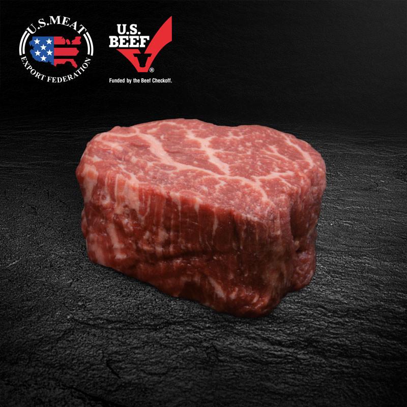 US Beef Filet roh - USMEF Logo