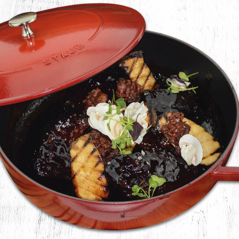 Rezept Ochsenbacken mit Pilzgröstl