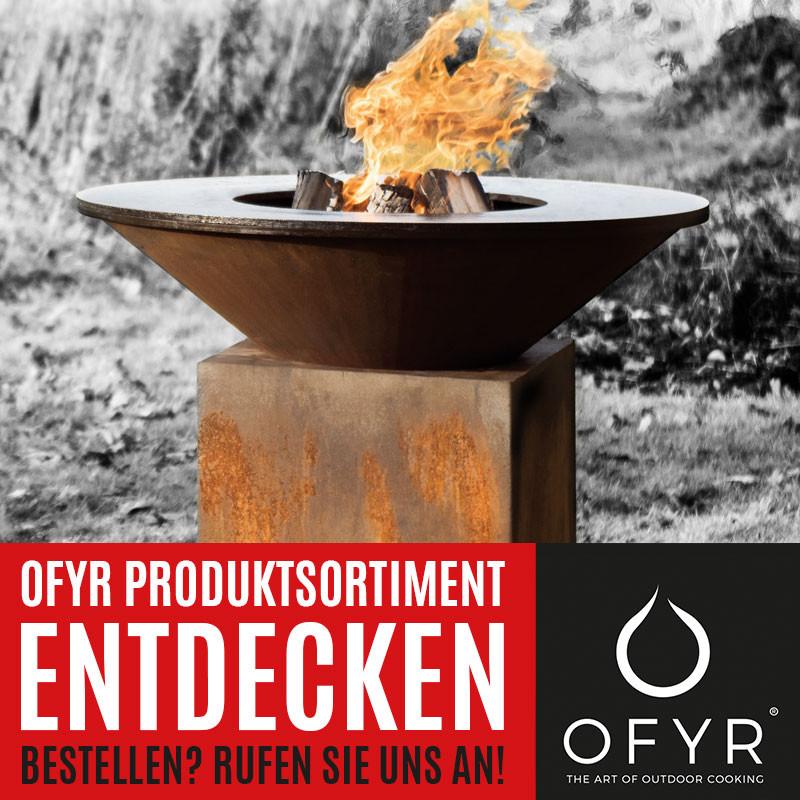 OFYR® Island Grill und Feuerstelle