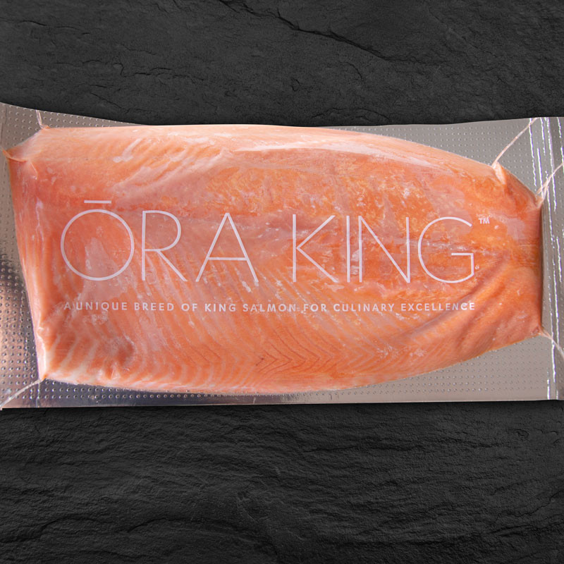 Ora King Lachsfilet mit Haut, Verpackung