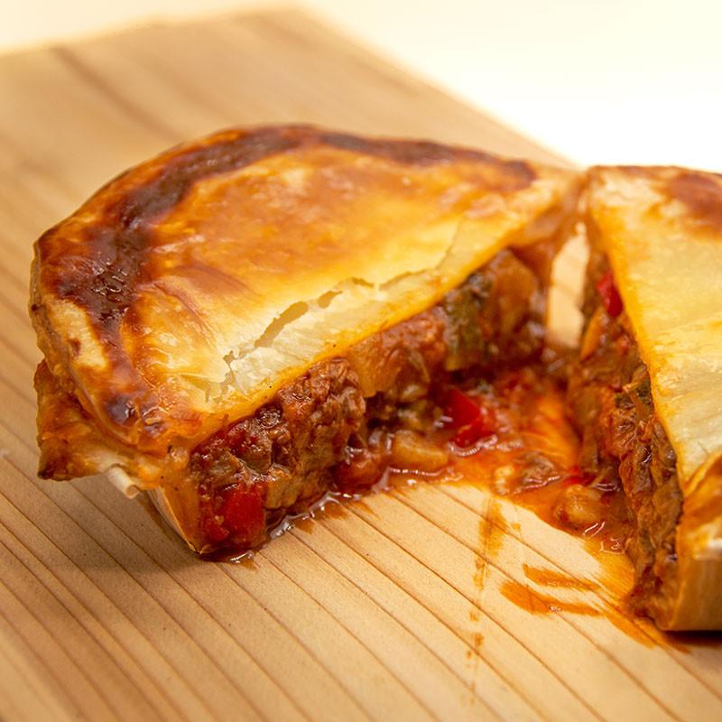 Steak Pie Ratatouille Serviervorschlag