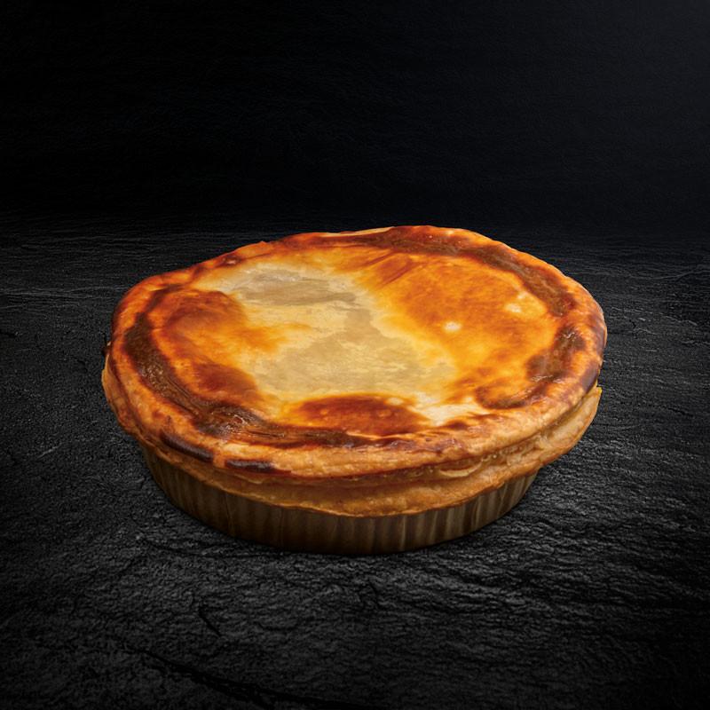 Steak Pie Ratatouille zubereitet