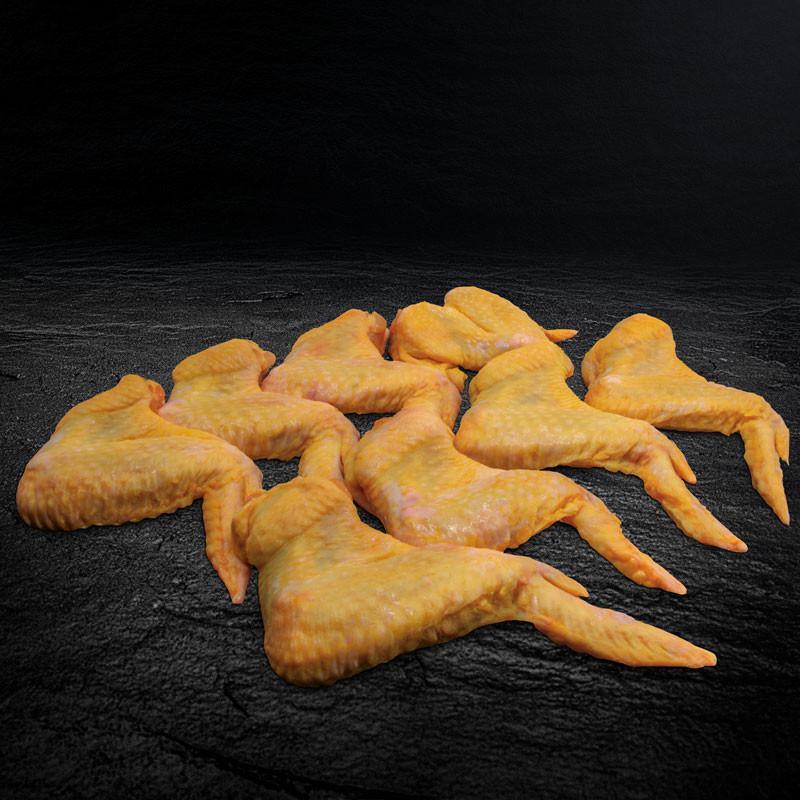 PIO Maishähnchen Flügel Acht Stück