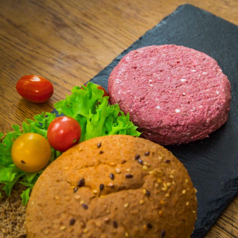 Planty of Burger - Veganer Burger Einzelansicht