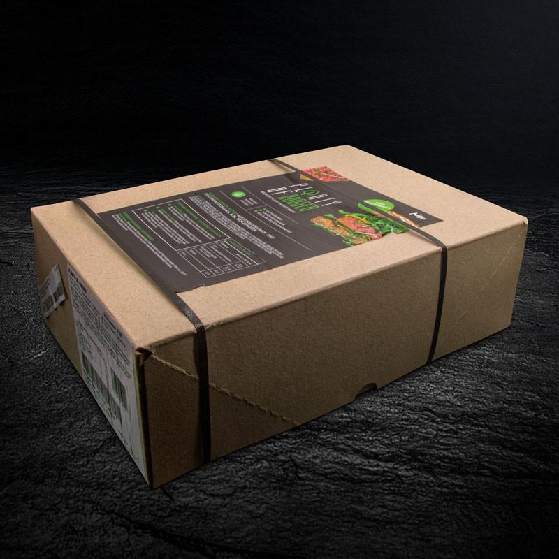 Planty of Mini Burger - Vegane Mini Burger XXL Verpackung