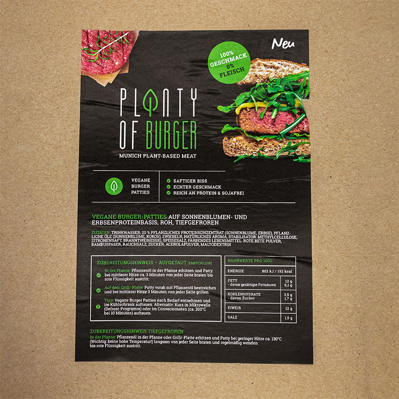 Planty of Mini Burger - Vegane Mini Burger XXL Box