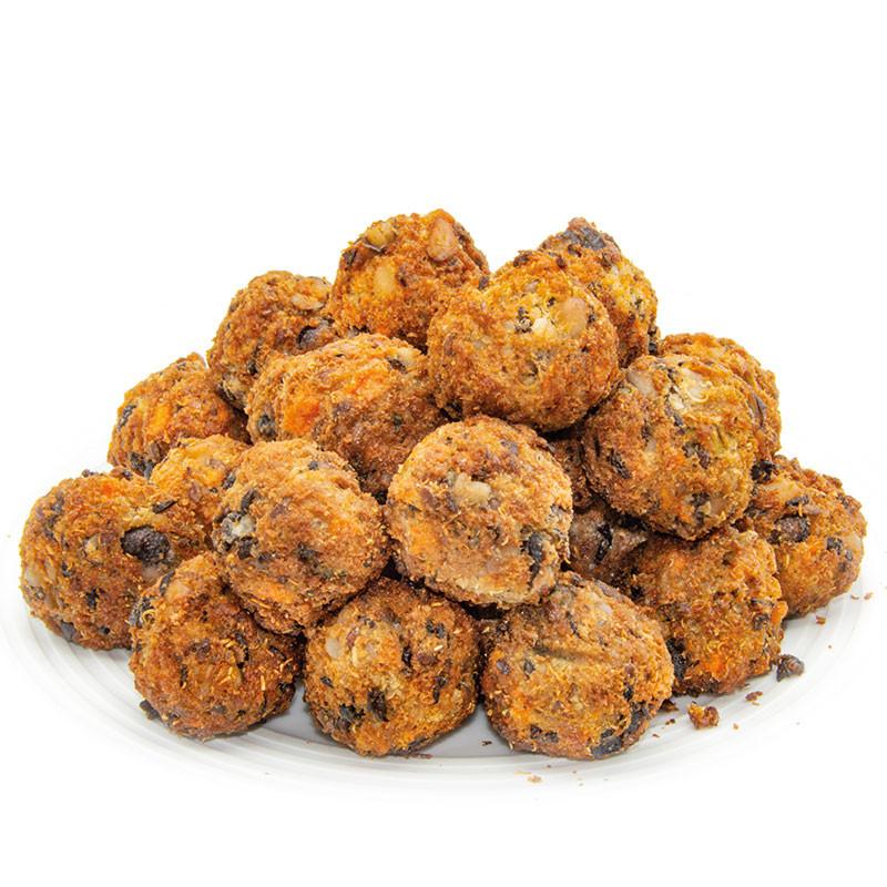 Quinoa Blackbean Crunchy Balls