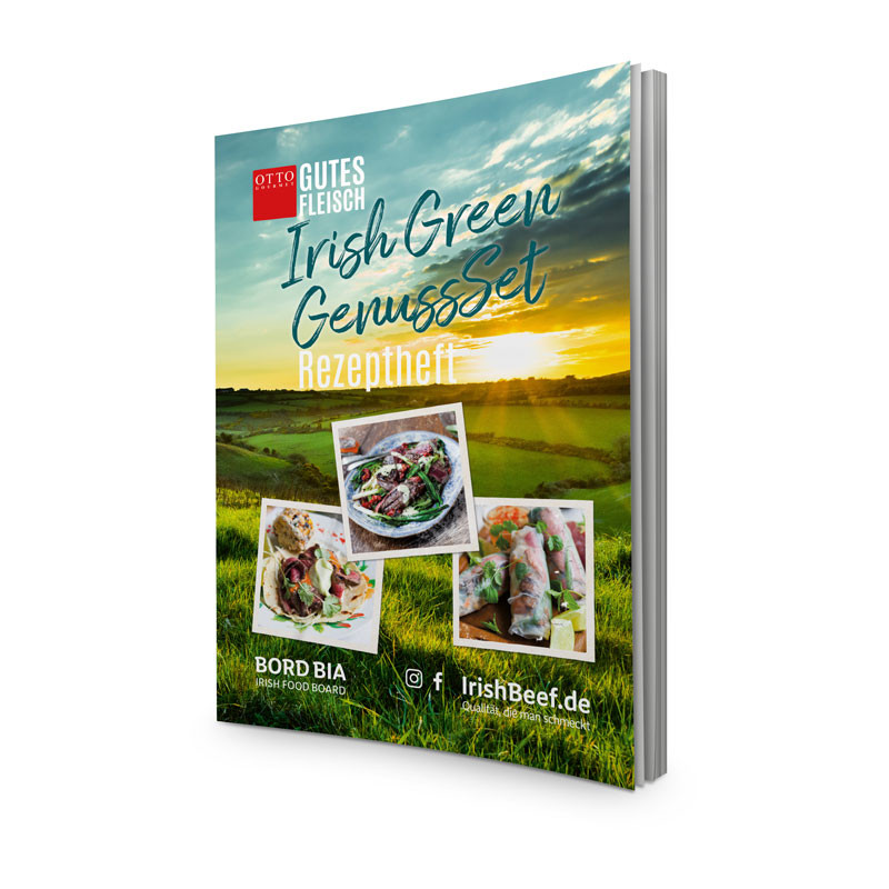 Rezeptheft Irish Green Genussset