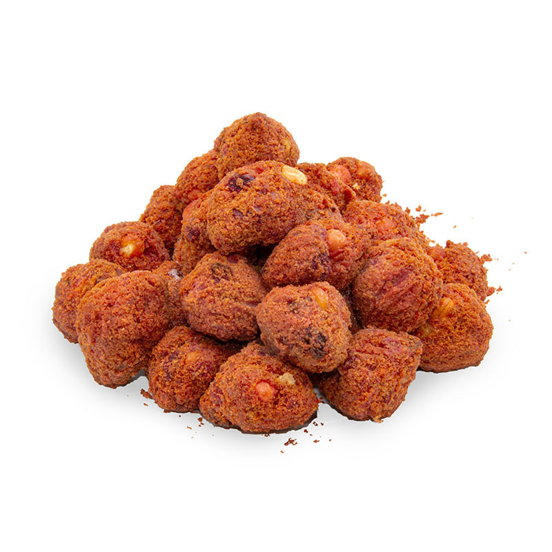 Rote Beete Tahini Crunchy Balls