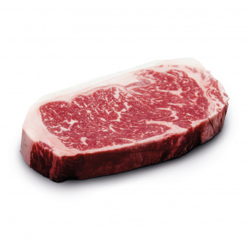 US Beef Striploin - Rumpsteak von der Morgan Ranch
