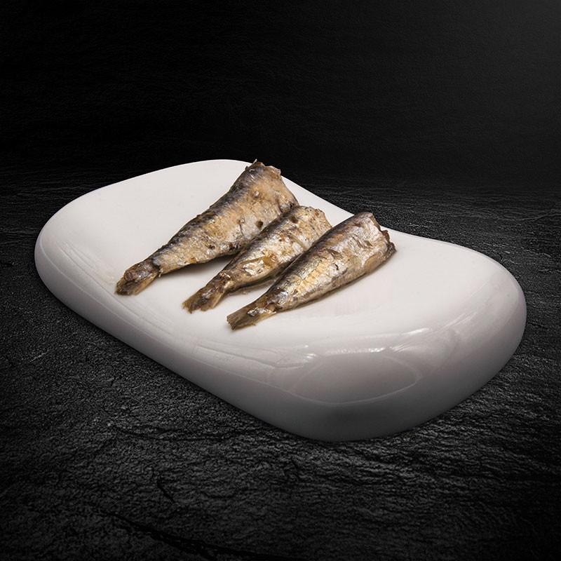 Sardinen in Olivenöl Serviervorschlag
