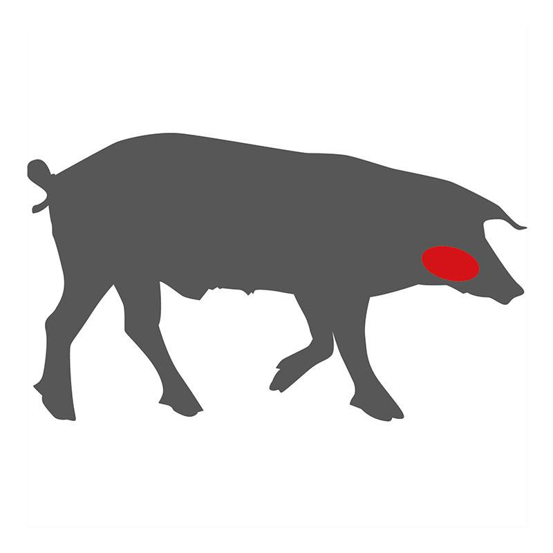 Wo liegen die Schweinebäckchen?