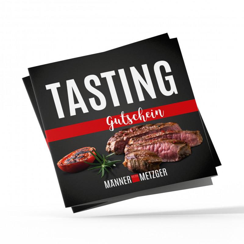Gutschein in Höhe von 69 € für Steak Tasting im MännerMetzger