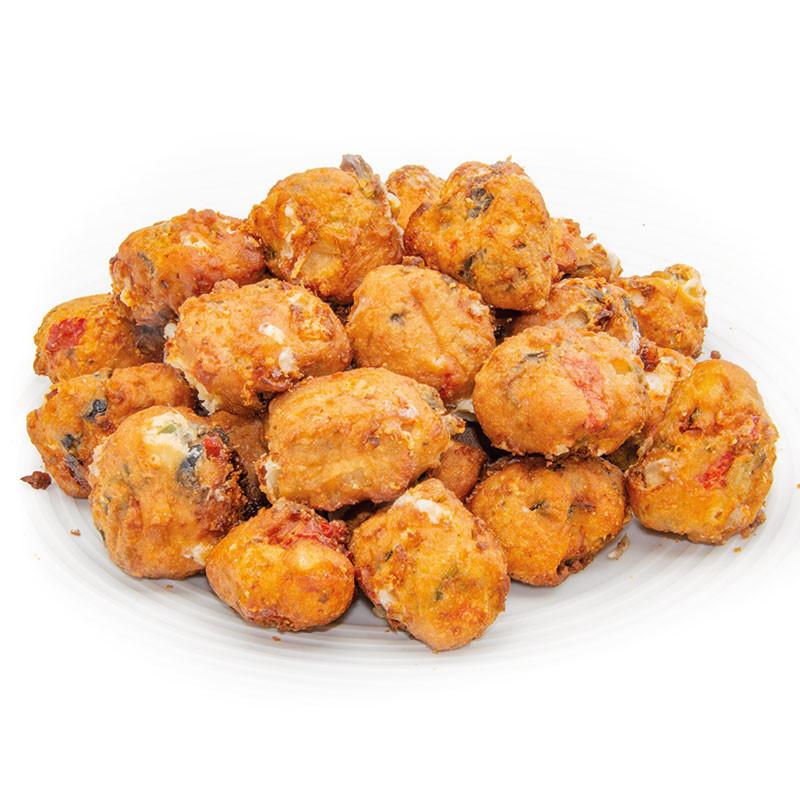Tomate Mozzarella Crunchy Balls