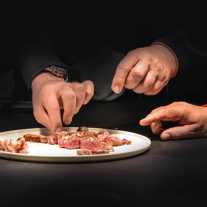 Steak - Querverkostung