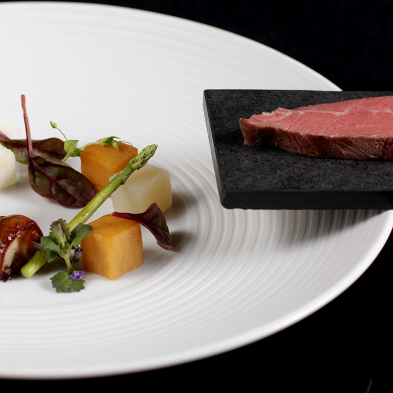 Rezept von Marco Müller: gegrillter Tafelspitz vom Wagyurind oder American Beef