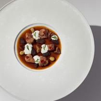 Rezept von Tim Raue: Bresse-Huhn-Excellence-Keule