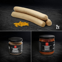 Currywurst Deluxe Paket: all in one!