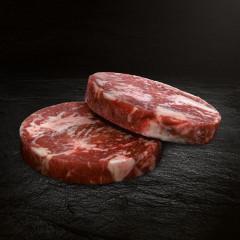 US Beef Steak Stripe Patty 2 Stück