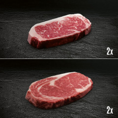 US Beef Ribeye and Strip Loin Paket